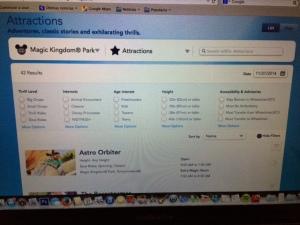 Esta es la Página de Disneyworld!