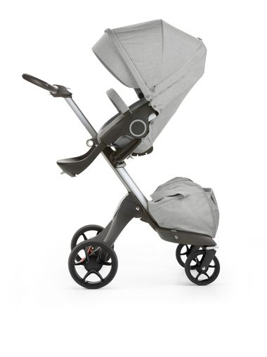 Stokke Xplory 170102-4266 Grey melange new wheels 2016_29349